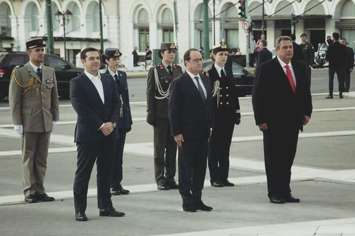 Tsipras, Olant