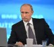 Russian President Vladimir Putin holds Q&A live broadcast TV and radio session