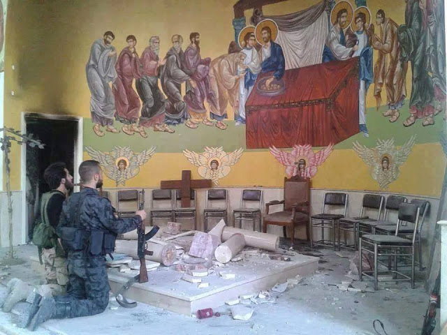 Syrian Christian Soldiers