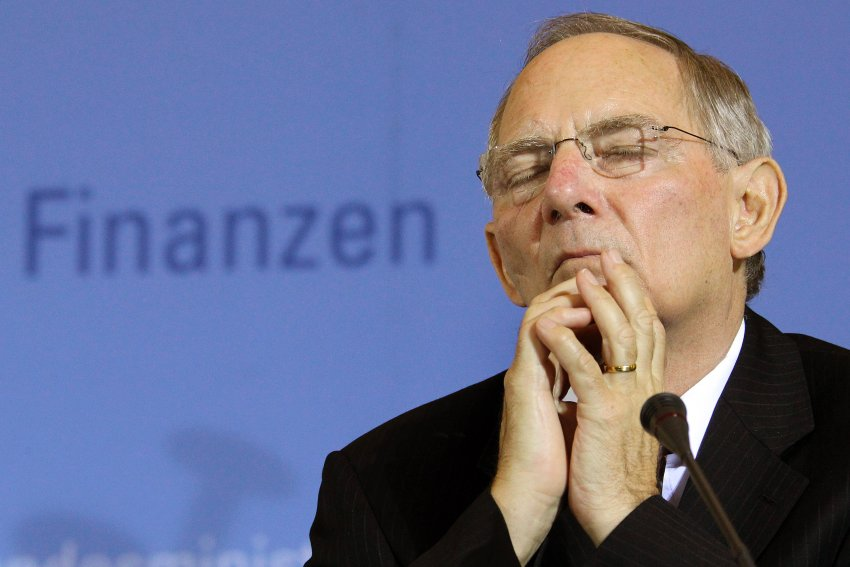 Schäuble trifft Geithner