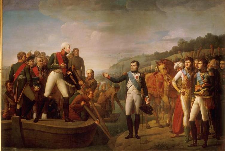Serangeli_-_Adieux_de_Napoléon_et_d'Alexandre_après_la_paix_de_Tilsitt_(9_juillet_1807)